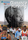 Mandela Day Marathon, South Africa: In the foreground runners near the top of 'Struggle Hill'. In the background: Marco Cianfanelli's sculpture of Nelson Mandela. Pictures courtesy of Mandela Day Marathon and The Apartheid Museum.