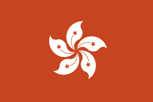 Flag of Hong Kong, China