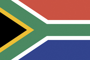 Flag of Republic of South Africa