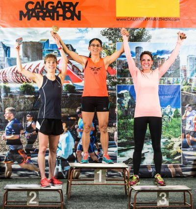 Calgary Marathon Honours Rightful Top Marathon Female Finisher of 2014