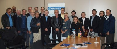 AIMS & friends at the Athens Headquarters before the 30th Anniversary Gala
