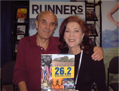 Kathrine Switzer and her husband Roger Robinson