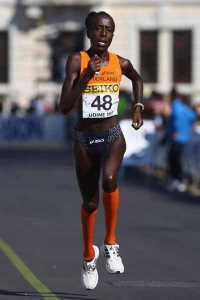 Lornah Kiplagat of the Netherlands
