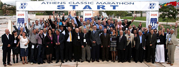 Participants at the 3rd AIMS IAAF Marathon Symposium