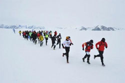 In The Antarctica Ice Marathon (more) Held At Union Glacier On 15 December  Bernardo Fonseca Of Brazil Won The Menu0027s Race In 4:20:31 And Clare Apps  (GBR) The ...