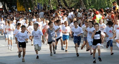 Vidovdan, 5000 children participated a series of races from 400m to 5km.