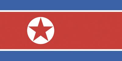 Flag of DPR of Korea
