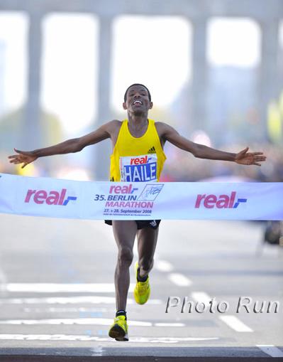 Nike Breaking2 project. So, a regular marathon takes around