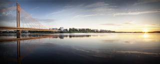 Kuva 6  summer panorama rovaniemi